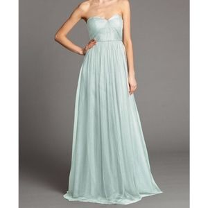 Jenny Yoo Spearmint Annabelle Bridesmaids Dress